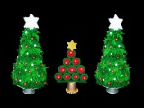 How to make Table top Christmas Trees from Yarn   DIY Christmas Crafts