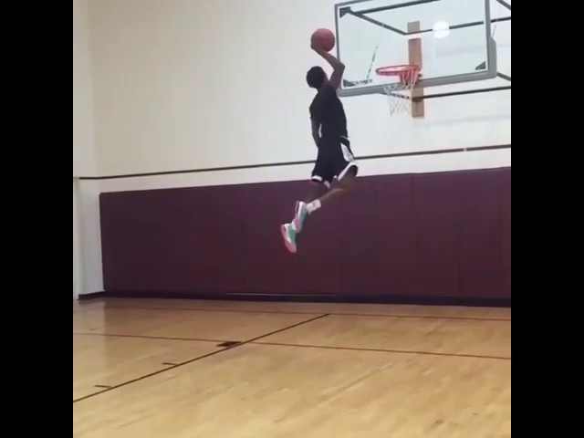 16 year old Jamal Harris has a 52 inch vertical!!