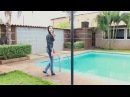 NEW VIDEO Swimming in the pool with rain Gaby Pixel Creativo