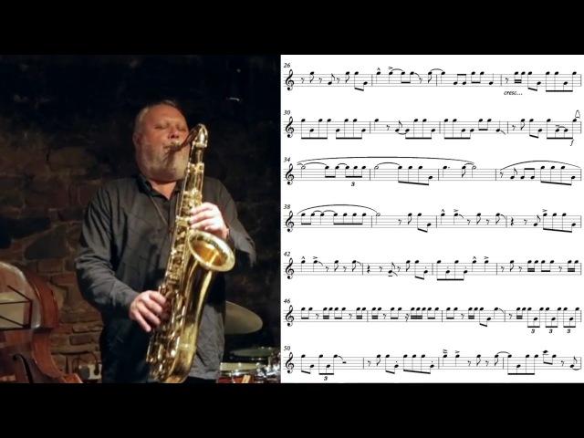 Tony Lakatos' one note solo Transcription