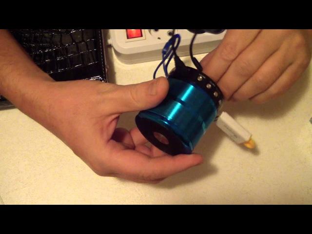 Портативная Bluetooth/FM/MP3/AUX колонка WS-887