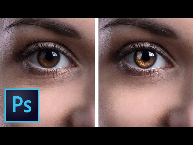 Create Amazing Details in the Eyes with Photoshop