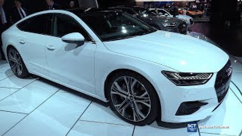 2019 Audi A7 - Exterior and Interior Walkaround - Debut at 2018 Detroit Auto Show