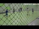 Упражнение ведение под футбольным обстрелом Темповой дриблинг Младшие