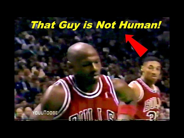 The Smartness and Quickness of Injured Michael Jordan