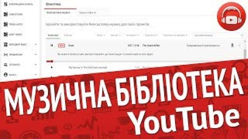 Оновлена фонотека YouTube