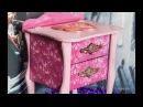 How to Paint Distress Furniture With Wax Παλαίωση με Κερί Diy Step by Step