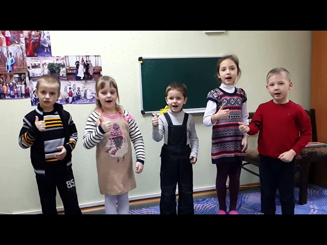 I GO TO SCHOOL English song for children.