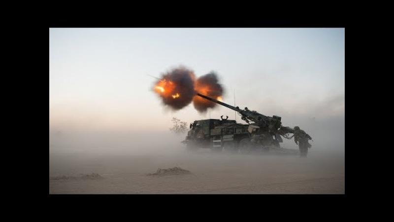 Ultra Powerful European Artillery in Action - CAESAR, PZH 2000, M270 MLRS, 120mm Mortar Live Fire