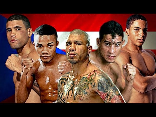 Топ 10 нокаутов пуэрториканских боксеров