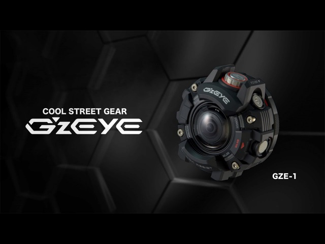 CASIO G'z EYE Product PV