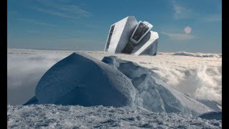 В Антарктиде найден вмерзший в лед НЛО ШОК Вторжение инопланетян неминуемо Документальный фильм