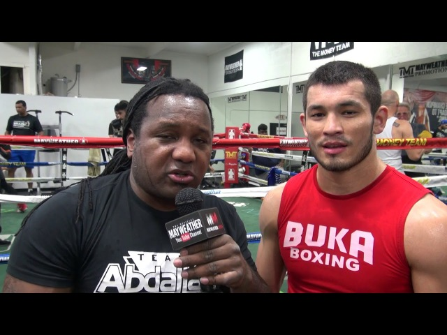Rising MMA star Makhmud Muradov talks with Dewey Cooper about his move to the Mayweather Boxing Club