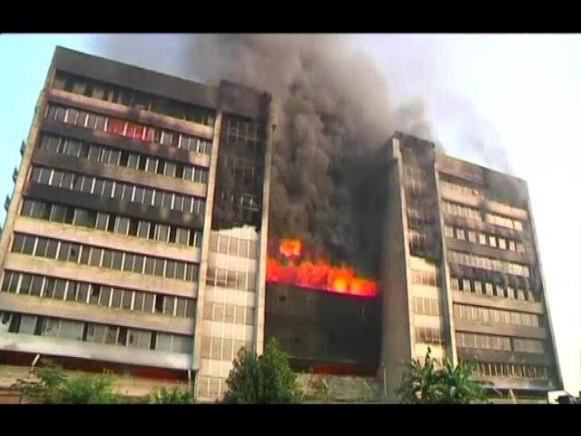 BANGLADESH-FACTORY FIRE (Huge Bangladesh fire destroys key garments factory)