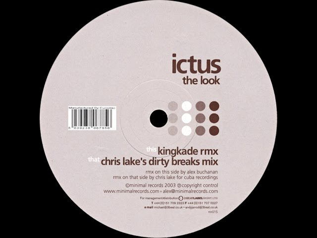 Ictus – The Look (Chris Lake's Dirty Breaks Mix)