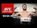 UFC Fight Night 122: Салмақ өлшеу