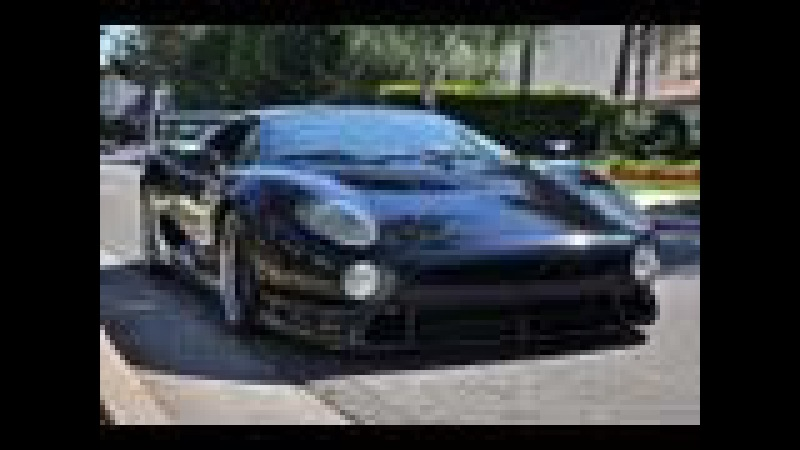 Jaguar XJ220 S - Ride Accelerations Revs Flybys and more