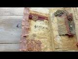 Vintage Bohemian Journal Flip-Through // Handmade Travelers Notebook Insert