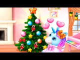 Pony Sisters CHRISTMAS Secret Santa Gifts Christmas Games Pony Care Game For Kids