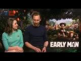 Tom Hiddleston, Maisie, Nick and Eddie Redmayne conocen al ganador del concurso de animación