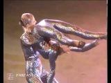 Incredible flexible girls duo contortion act
