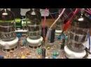 4-х ламповый приемник Сергея Беленецкого - RX204080EMF TUBE первое включение с синтезатором
