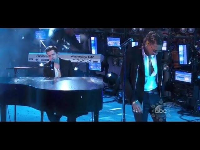 Wiz Khalifa Charlie Puth Performs 'See You Again' on NYE 2016