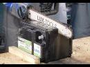 Пилой по батарее: как разрезали надвое аккумулятор TAB AGM