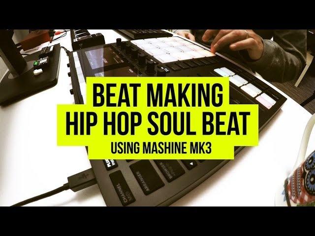 SCRATCH SPOTLIGHT: Boombapart - Hip Hop Soul Sample Beat Making Using Maschine MK3