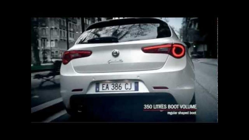 Alfa Romeo Giulietta official video