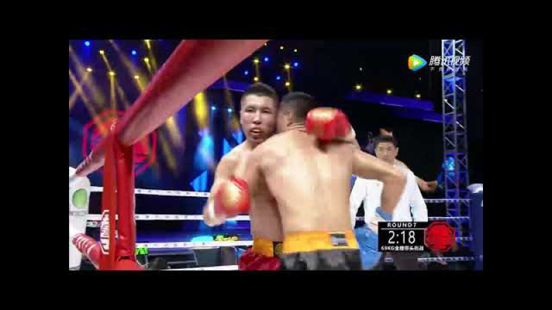 Уйгурский боксер Mamat Tursun Chong vs монгол Hu Richabilige часть 7