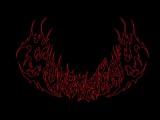 Speed Drawing Making Black Death Metal logo