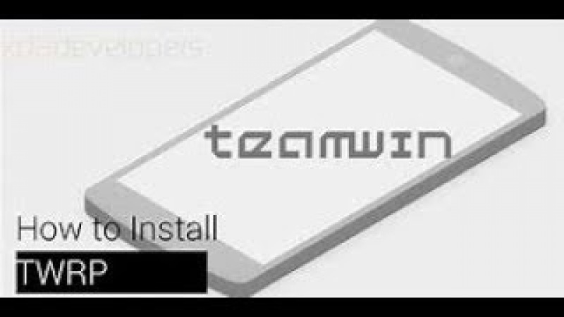 How to install TeamWin - TWRP recovering on PC