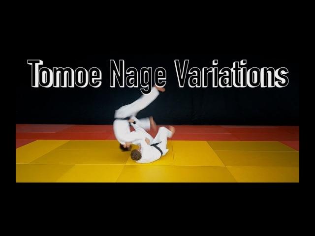 Tomoe Nage Variations / Бросок через голову с упором стопой в живот