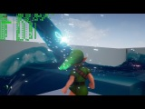 Unreal Engine 4 4.12.5 Zelda Ocarina of Time Nvidia Water Cataclysm Demo