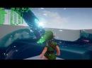 Unreal Engine 4 4.12.5 Zelda Ocarina of Time / Nvidia Water Cataclysm Demo
