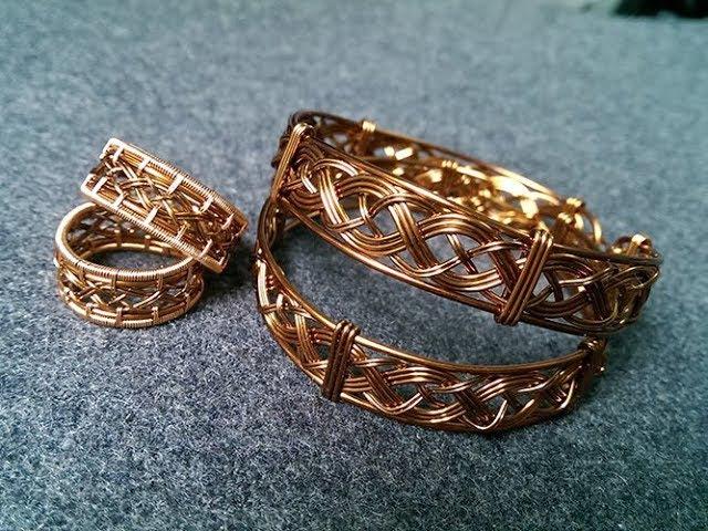 Unisex knot bracelet - Mens cuff bracelet - fast version - 278