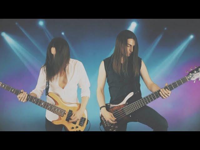 Deep Purple - Burn (Keyboard solo on the bass by Anton Ginzburg)