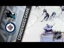 San Jose Sharks vs Winnipeg Jets – Jan. 07, 2018