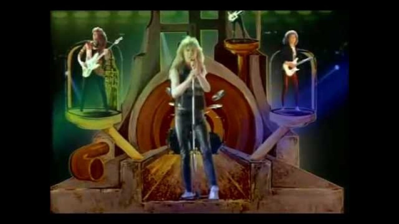 Saxon - I Cant Wait Anymore (1988 Music Video) HD