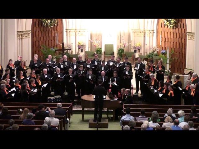 Sanctus - Leonard Bernstein - Manchester Choral Society Chorus