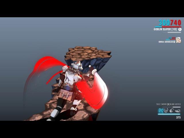 Goblin Slayer - Warframe Blind Justice Stance Combo Animation