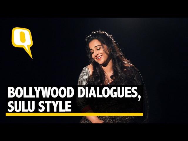 Non-Stop Bollywood With Tumhari Sulu, Vidya Balan | The Quint