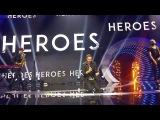 Mans Zelmerlow - Heroes (LIVE - Krajowe Eliminacje Eurovision Poland 2018)