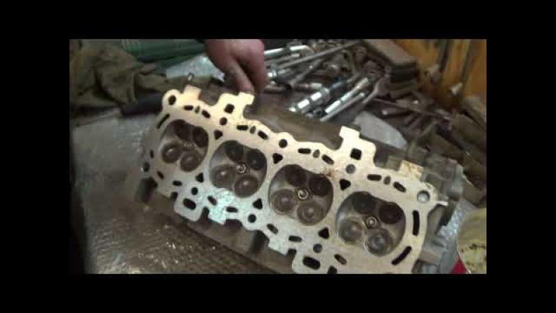 Ford Focus 2 Ремонт головки блока цилиндров