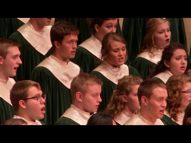 Luther College Cathedral Choir Earth Song by Frank Ticheli