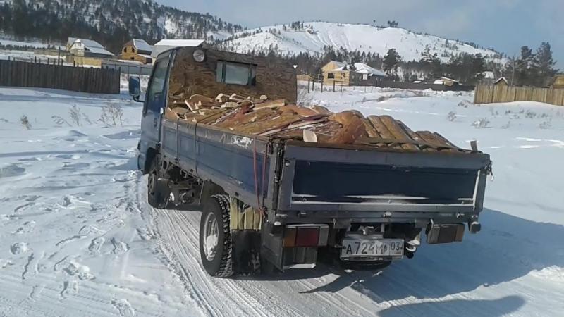 Горбыль распиленный на дрова