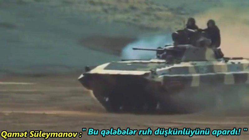 Qamət Süleymanov: Bu qələbələr ruh düşkünlüyümüzü apardı !