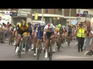 Giro d'Italia 5/5/18 Haifa - Tel Aviv Finale - Elia Viviani wins Stage 2