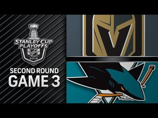 Vegas Golden Knights vs San Jose Sharks – Apr. 30, 2018   Game 3